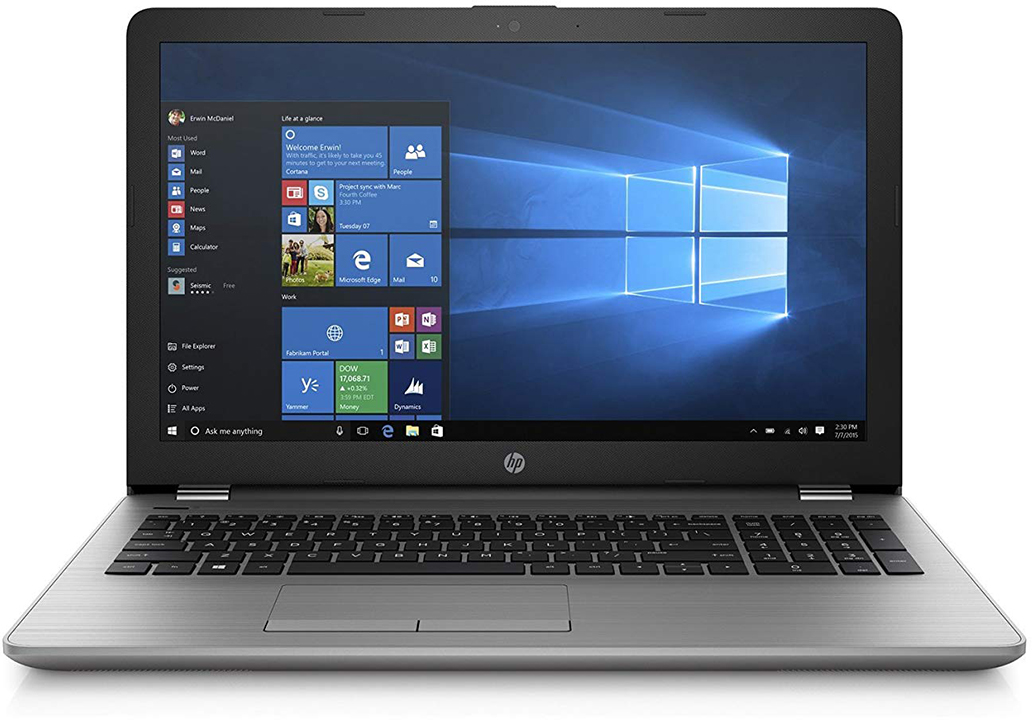 "HP Notebook HP 250 G6 3QM24EA i3 7020U 15,6"" 4GB/500GB/Win 10 Pro"