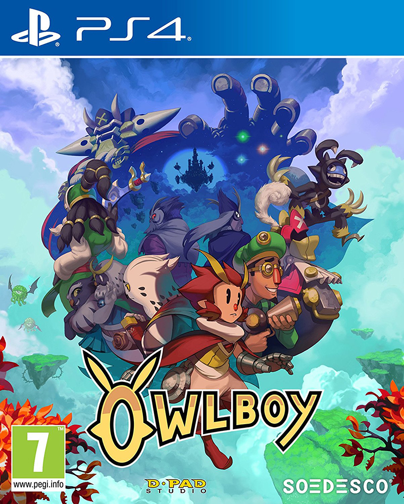 Soedesco PS4 Owlboy