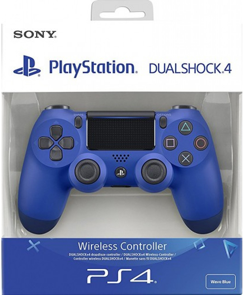 Sony Computer Ent. PS4 Dualshock 4 Wave Blue V2