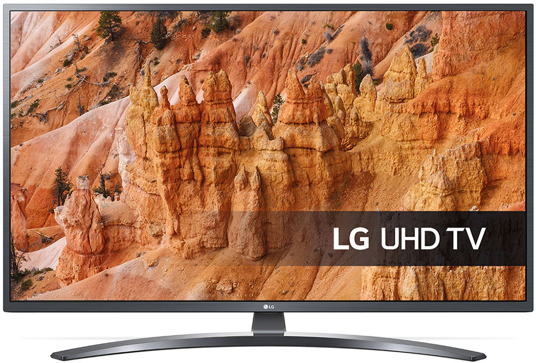 "LG LG 43"" LED 43UM7450PLA Ultra-HD 4K HDR AI ThinQ Smart TV"