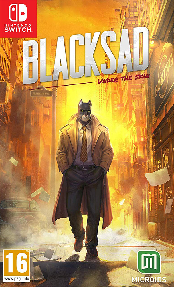 Microids Switch Blacksad: Under the skin - Limited Edition EU