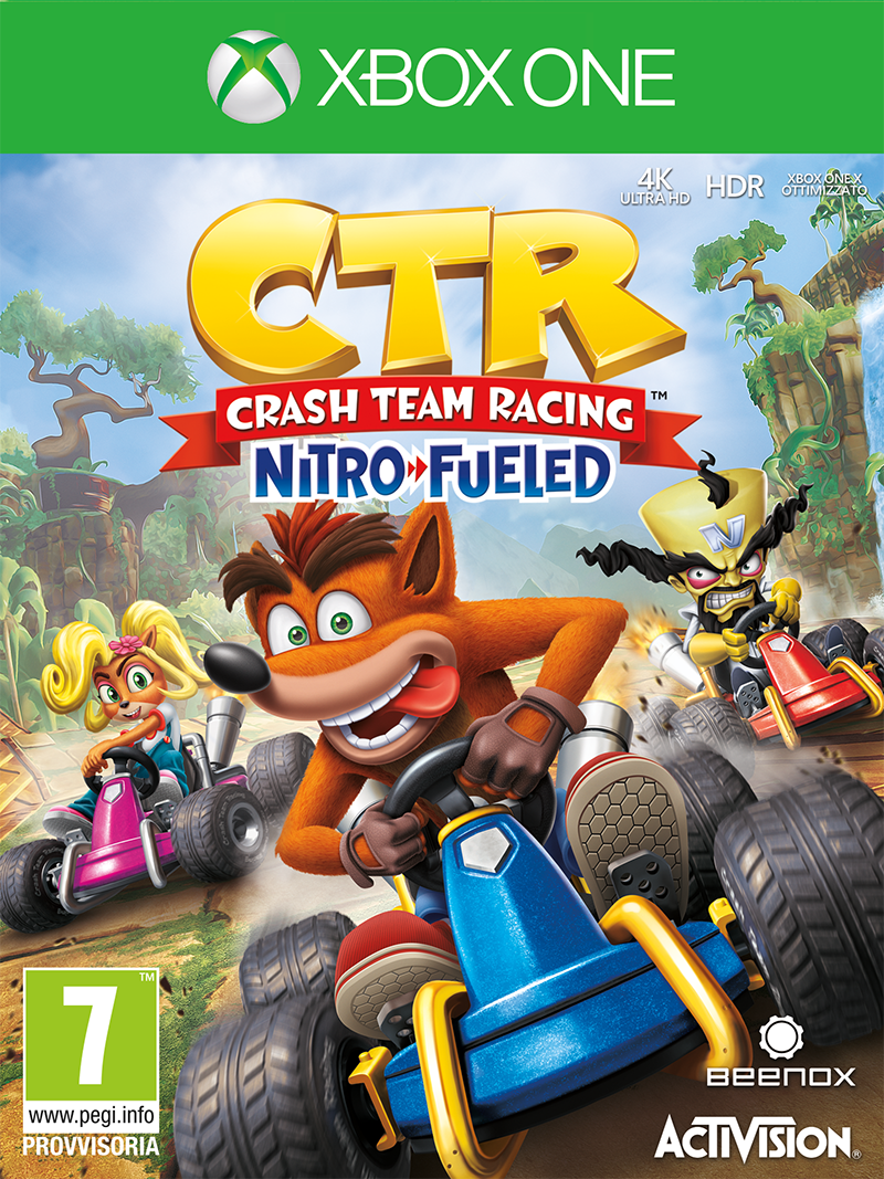 Activision Blizzard XBOX ONE Crash Team Racing Nitro-Fueled EU