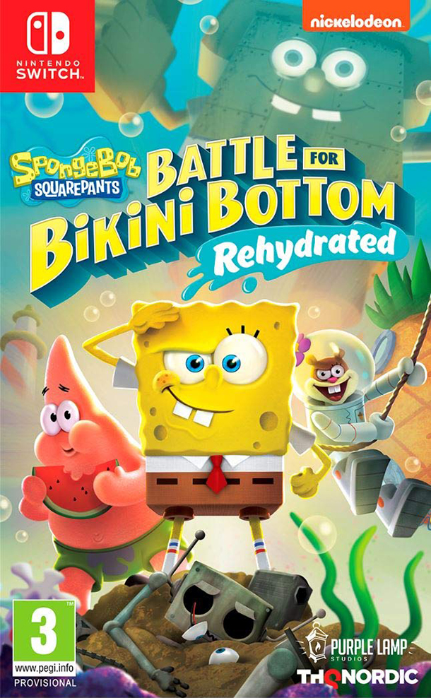 THQ Nordic Switch Spongebob SquarePants: Battle for Bikini Bottom - Rehydrated