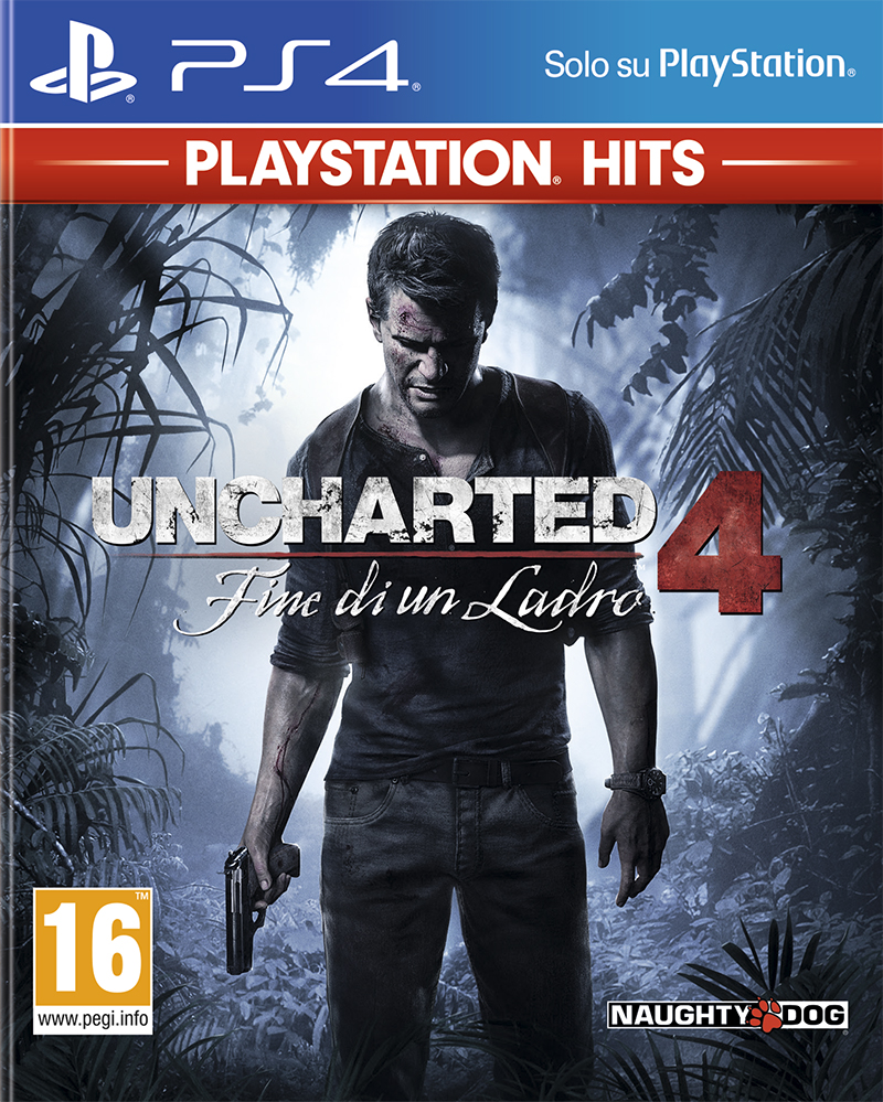 Sony Computer Ent. PS4 Uncharted 4: Fine di un ladro - PS Hits
