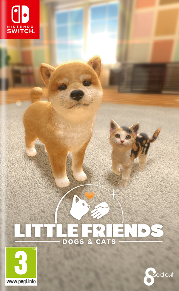 Sold Out Switch Little Friends: Dogs and Cats