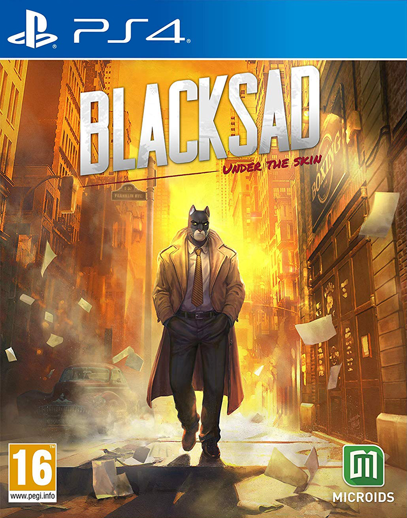 Microids PS4 Blacksad: Under the skin - Limited Edition EU