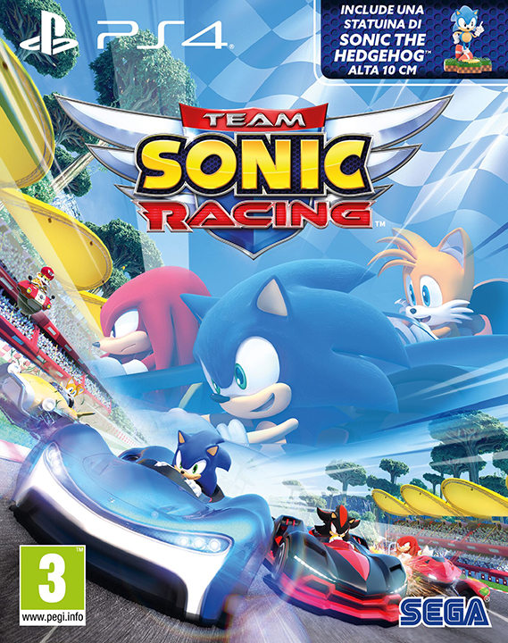 Sega PS4 Team Sonic Racing - Special Edition EU