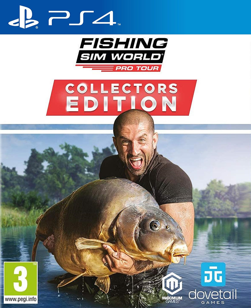 Maximum Games PS4 Fishing Sim World - Pro Tour Collector s Edition EU