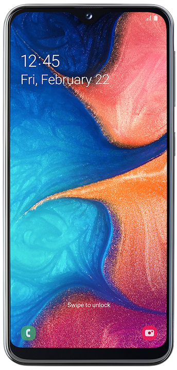 "Samsung Samsung Galaxy A20e SM-A202F 3+32GB 5.8"" Black DS TIM"