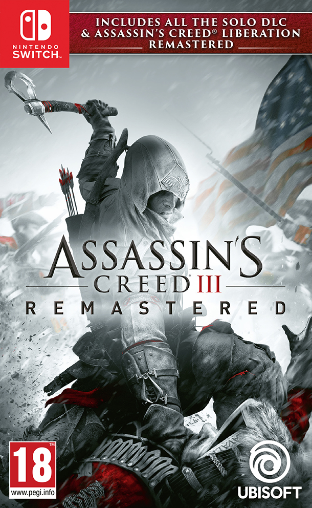 Ubisoft Switch Assassin s Creed 3 + Assassin s Creed Liberation Remastered