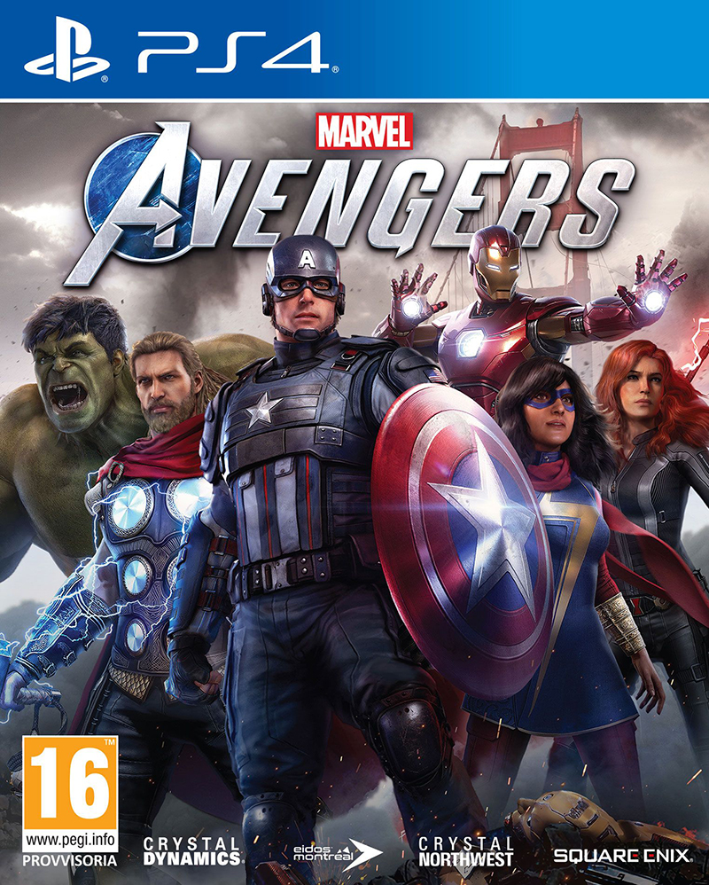 Square-Enix PS4 Marvel s Avengers