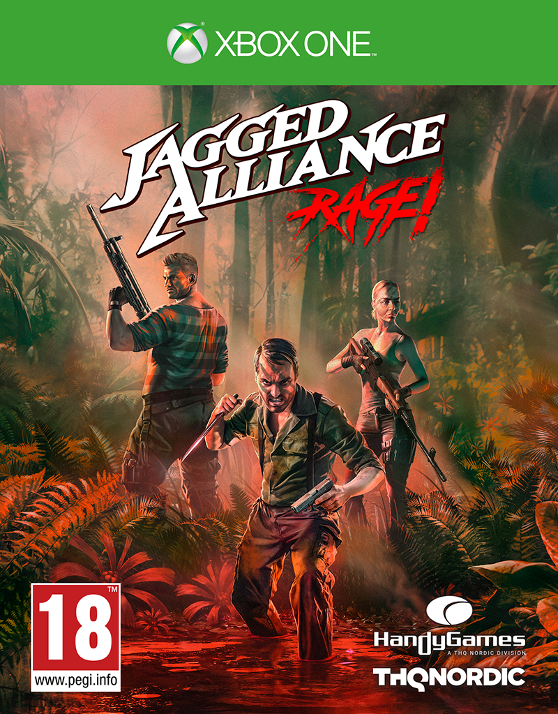 THQ Nordic XBOX ONE Jagged Alliance: Rage
