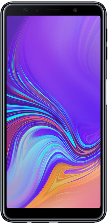 "Samsung Samsung Galaxy A7 2018 SM-A750 4+64GB 6.0"" Black DS ITA"