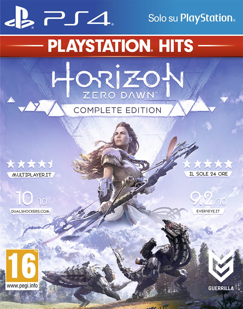 Sony Computer Ent. PS4 Horizon Zero Dawn Complete Edition - PS Hits