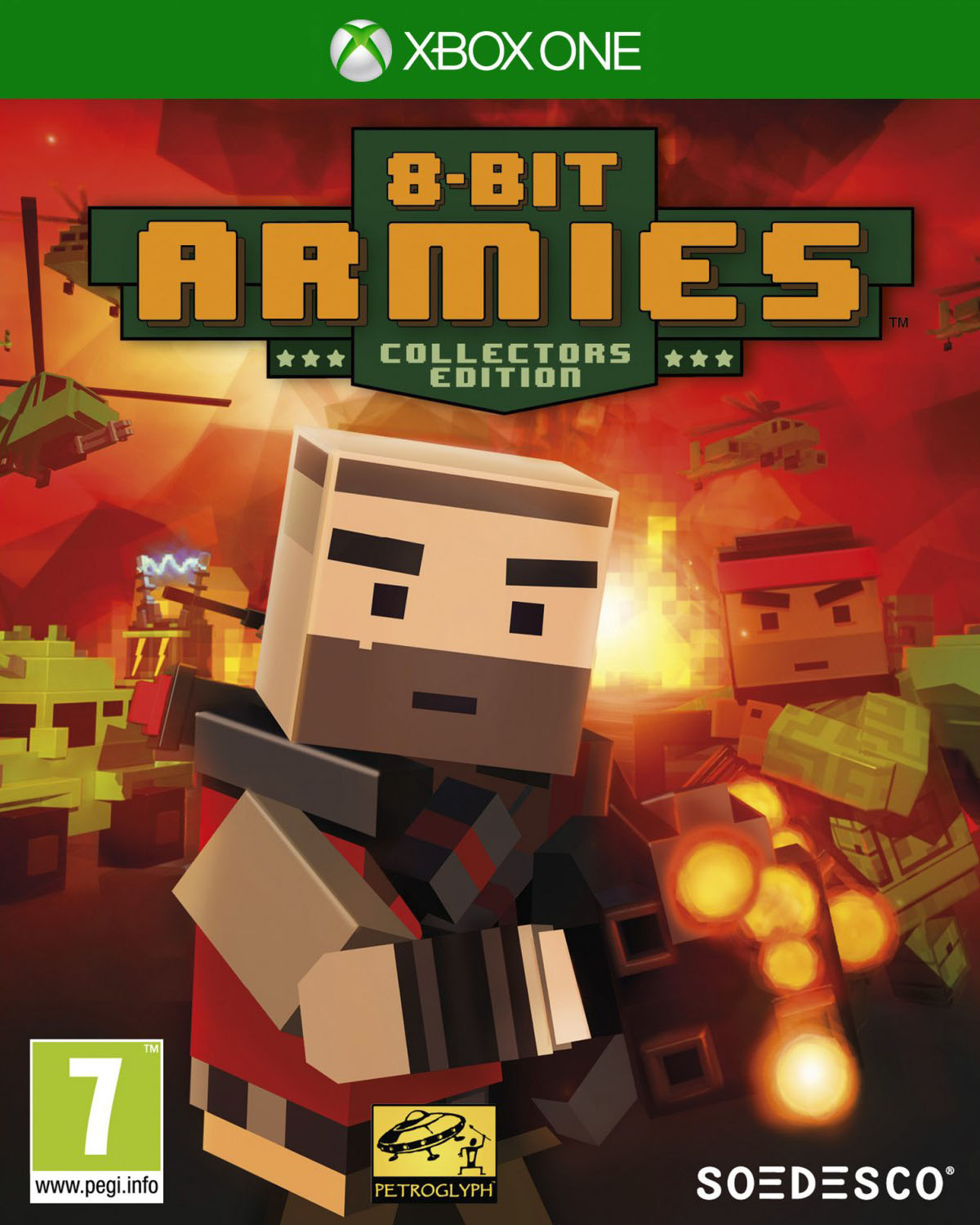 Soedesco XBOX ONE 8 Bit Armies Collector s Edition