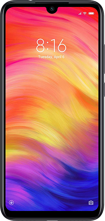 "Xiaomi Xiaomi Redmi Note 7 4+64GB 6.3"" Space Black DS EU"