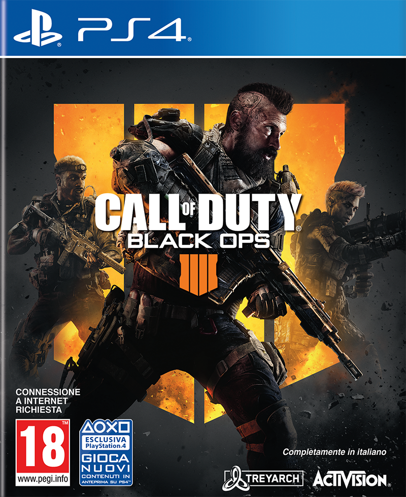 Activision Blizzard PS4 Call of Duty: Black Ops 4