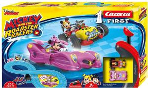 Carrera Carrera Pista FIRST Mickey and the Roadster Racers, Minnie - 2,4 m