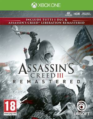 Ubisoft XBOX ONE Assassin's Creed 3 + Assassin's Creed Liberation Remastered
