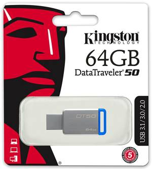 Kingston Kingston Pendrive USB 3.1 64GB DT50 DataTraveler DT50/64GB