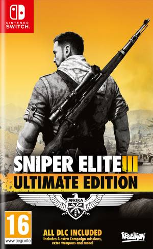 Sold Out Switch Sniper Elite 3 - Ultimate Edition EU