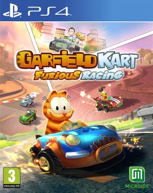 Microids PS4 Garfield Kart Furious Racing