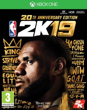 Take 2 XBOX ONE NBA 2K19 - 20th Anniversary Edition