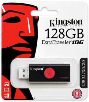 Kingston Kingston Pendrive USB 3.1 128GB DT106/128GB