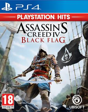 Ubisoft PS4 Assassin's Creed 4: Black Flag - PS Hits