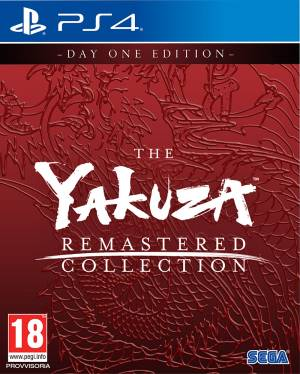 Sega PS4 Yakuza Remastered Collection - DayOne Edition EU