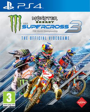 Milestone PS4 Monster Energy Supercross - The Official Videogame 3 EU