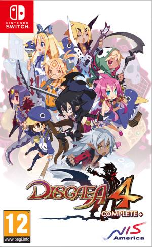 NIS Switch Disgaea 4 Complete+