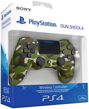 Sony Computer Ent. PS4 Dualshock 4 Green Camo V2