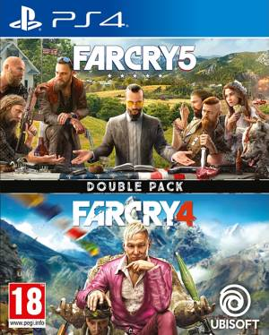 Ubisoft PS4 Compilation Far Cry 4 +Far Cry 5 Double Pack