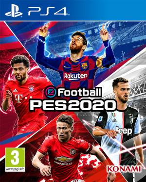 Konami PS4 eFootball PES 2020 EU