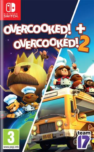 Sold Out Switch Overcooked + Overcooked 2