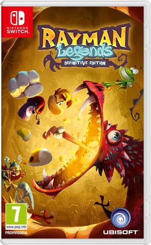 Ubisoft Switch Rayman Legends Definitive Edition