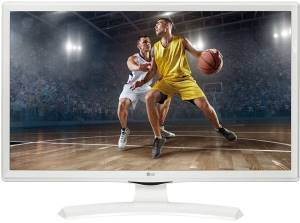 "LG LG 24"" Monitor TV LED 24TK410V-WZ HD Ready Bianco"