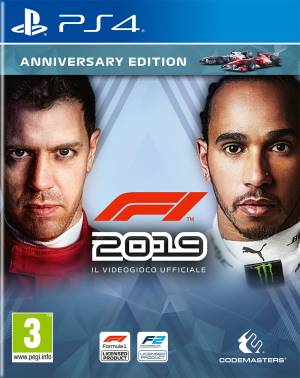 Codemasters PS4 F1 2019 - Anniversary Edition EU