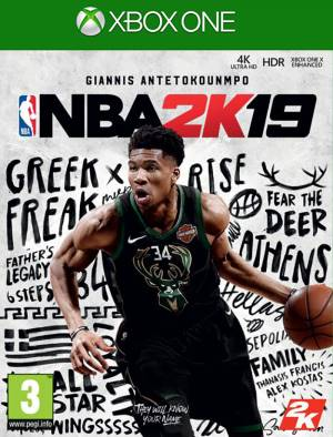 Take 2 XBOX ONE NBA 2K19 *