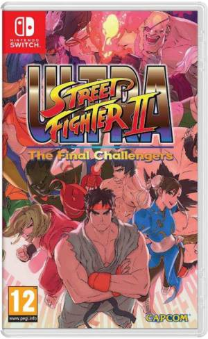 Nintendo Switch Ultra Street Fighter 2: The Final Challengers
