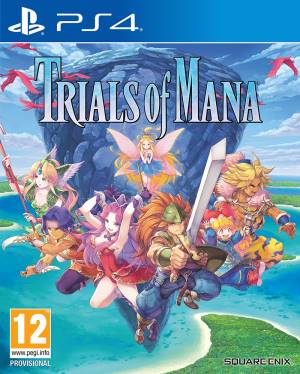 Square-Enix PS4 Trials of Mana
