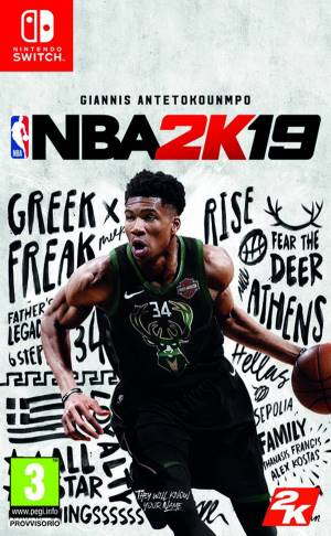 Take 2 Switch NBA 2K19
