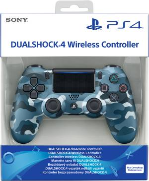 Sony Computer Ent. PS4 Dualshock 4 Blue Camouflage V2