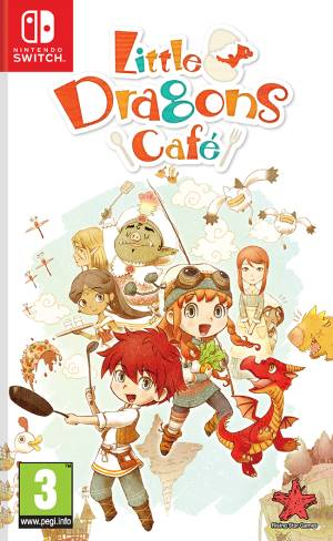 Rising Star Switch Little Dragons Cafè