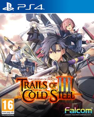 NIS PS4 The Legend of Heroes: Trails of Cold Steel 3