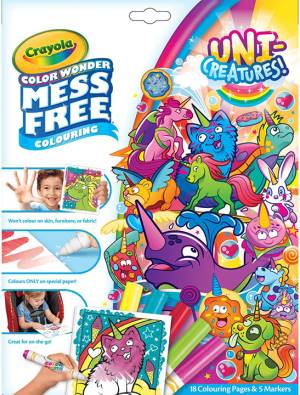Crayola Crayola Coloring Set - Color Wonder Uni-Creatures