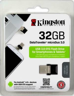 Kingston Kingston Pendrive USB 3.0 32GB DT Micro Duo DTDUO3/32GB