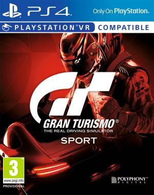 Sony Computer Ent. PS4 Gran Turismo Sport Standard Ed.