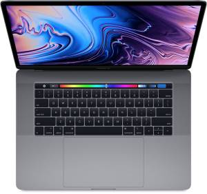 "Apple Apple MacBook Pro 2019 15"" TouchBar i7 2.6GHz 256GB S. Grey MV902T/A"